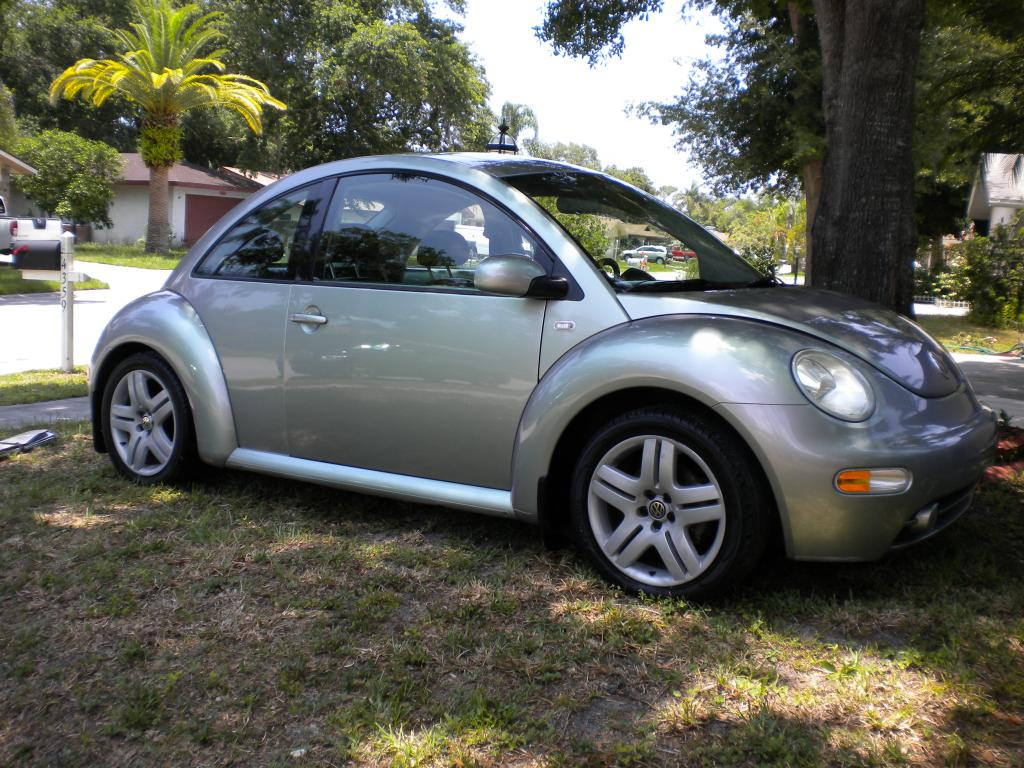 2003 New Beetle In Chromaflair Silver Green Newbeetle