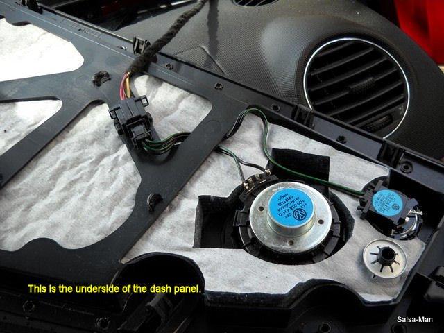 Dash Speaker Replacement Help 2005 Beetle W Monsoon Newbeetle Org Forums
