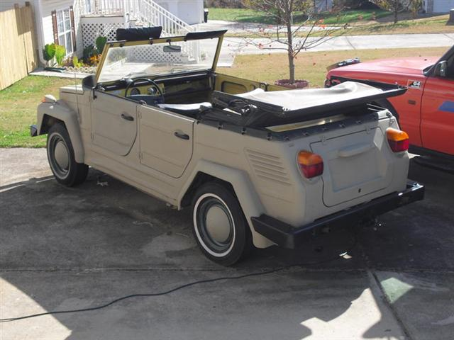 VW Thing for Sale Craigslist