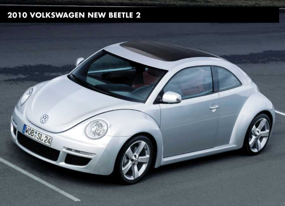 Vw New Beetle 2011. VW Promises quot;More Courageousquot;