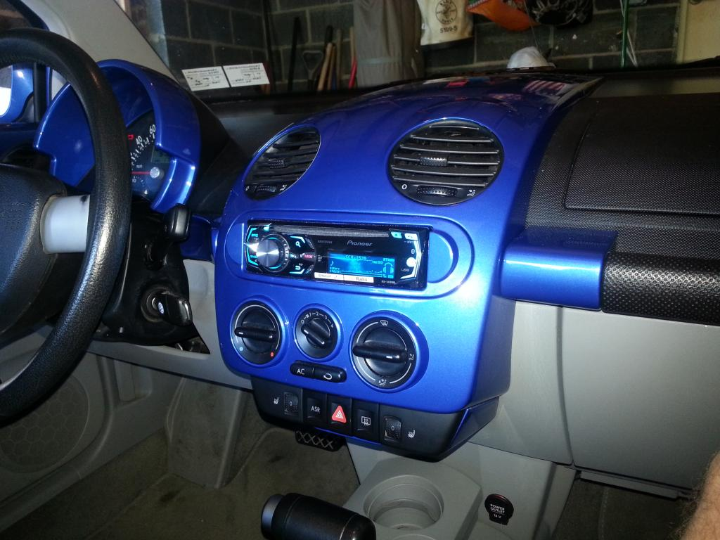 2002 Vw Beetle Dash Free Download Jetta Radio Fuse Diagram Aftermarket Stereo Painted Newbeetle Org Forums