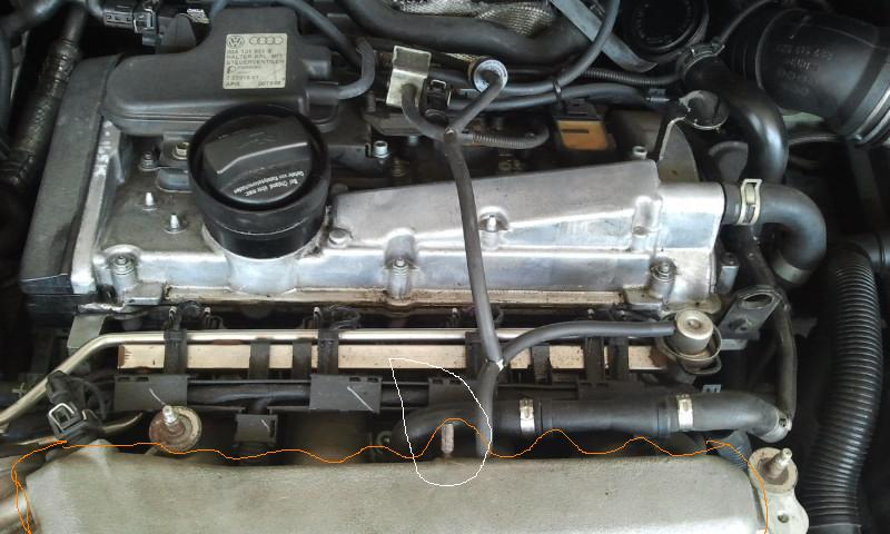 hose missing newbeetle org forums 2000 VW TDI Serpentine Belt 2000 vw beetle 1 8 turbo engine diagram wiring