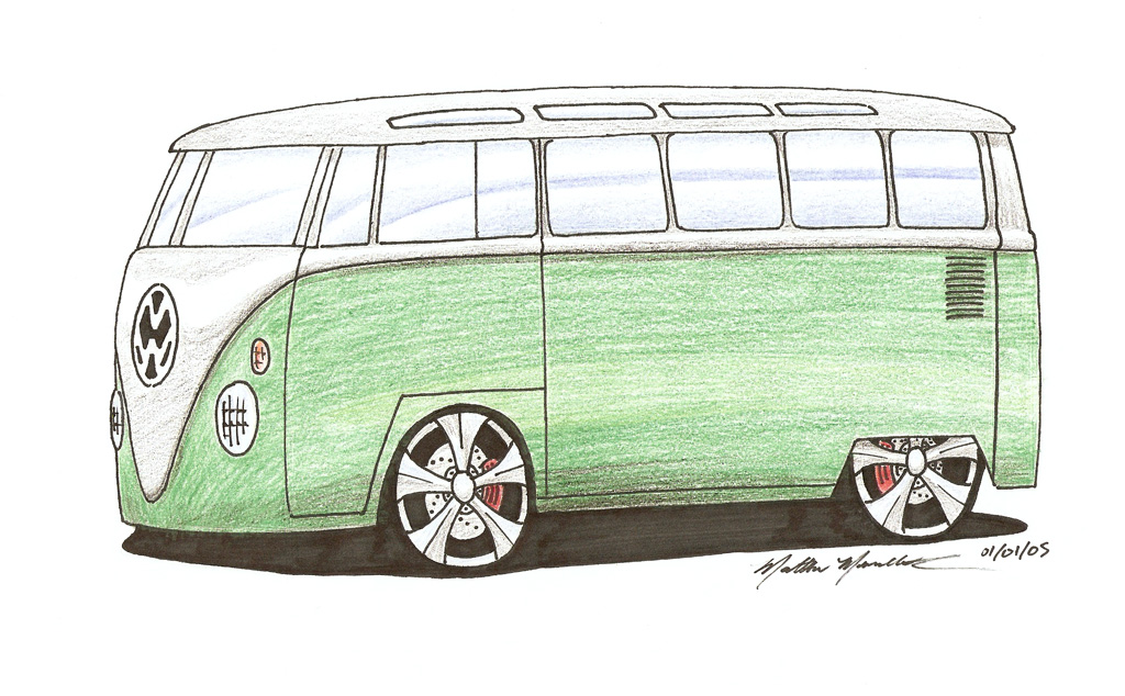 Car drawings personalized just for you!-bus1024.jpg