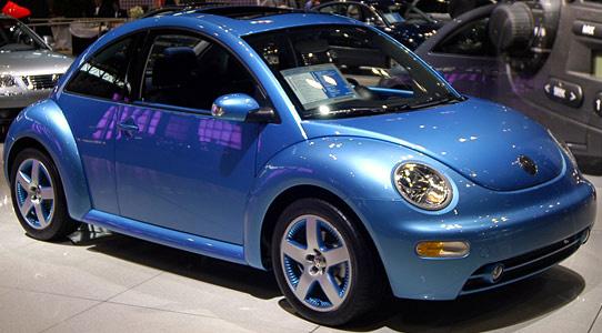 D Satellite Blue Paint Code Cars on Vw Beetle Antenna