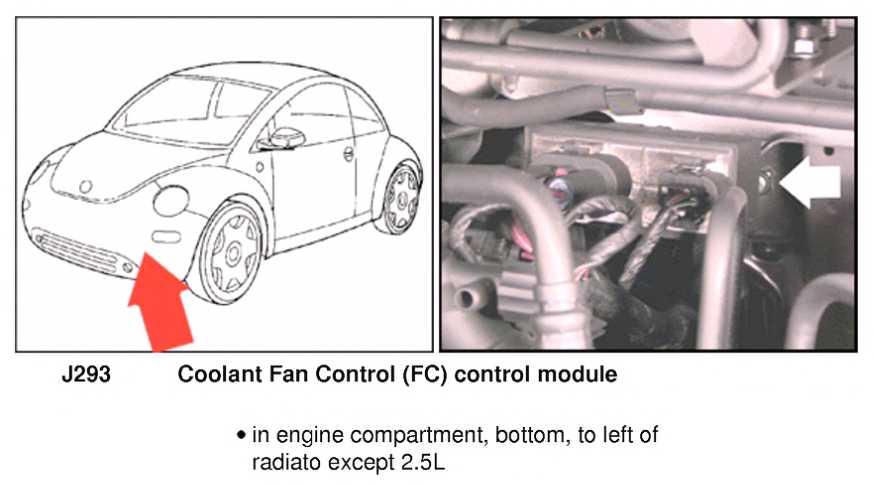 Fan Control Module Troubleshooting Question Newbeetleorg Forumsrhnewbeetleorg: 2007 Vw Jetta Cooling Fan Control Relay Location At Gmaili.net