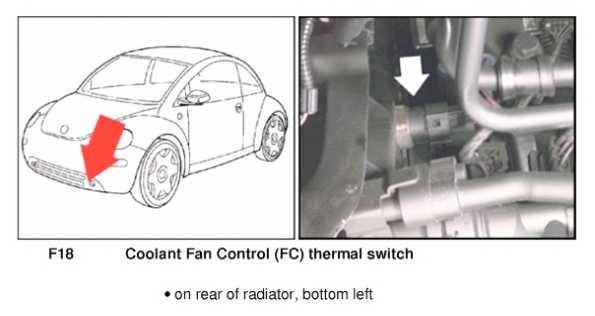 Fan control module troubleshooting question | NewBeetle org