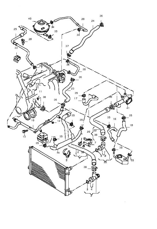 Volkswagen Cooling System Diagram