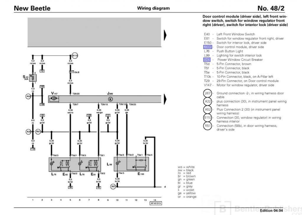 driver door wiring harness 850 newbeetle org forums rh newbeetle org