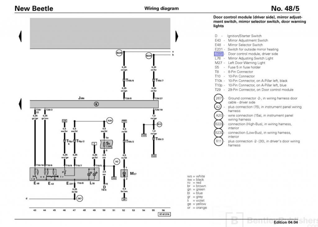 2010 vw new beetle door wiring harness wire data schema u2022 rh lemise co