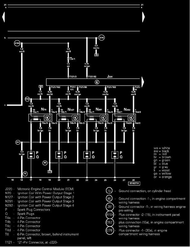 VCDS 17925 P1517 fault code ECU Relay J271 - 1.8T Cranks ... on