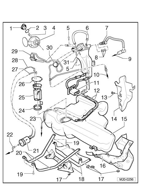 1998 Beetle Fuel Filter Location | Wiring Diagram