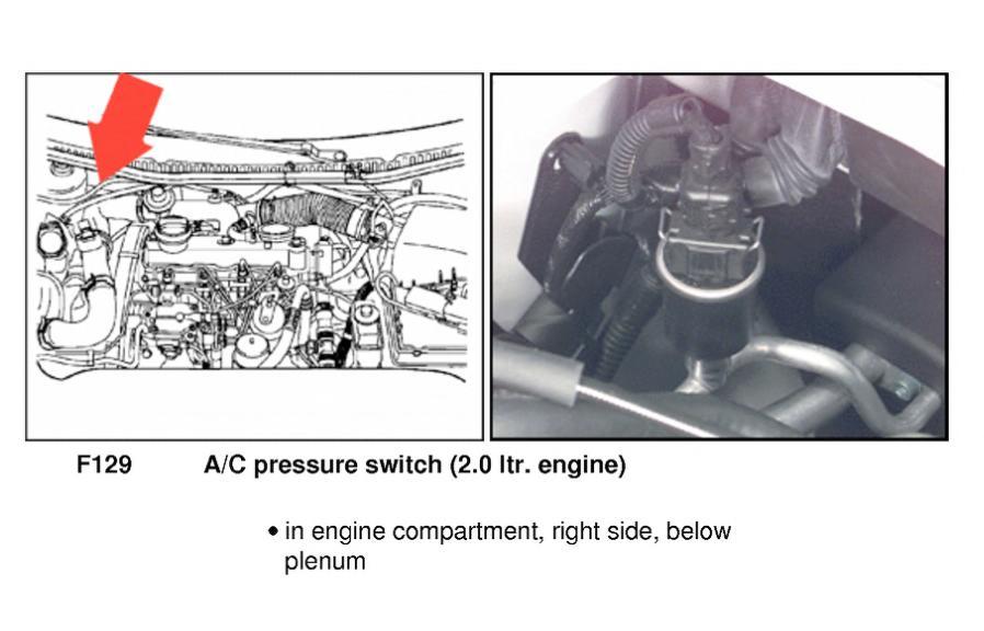 2012 vw jetta 2.5 oil pressure switch location
