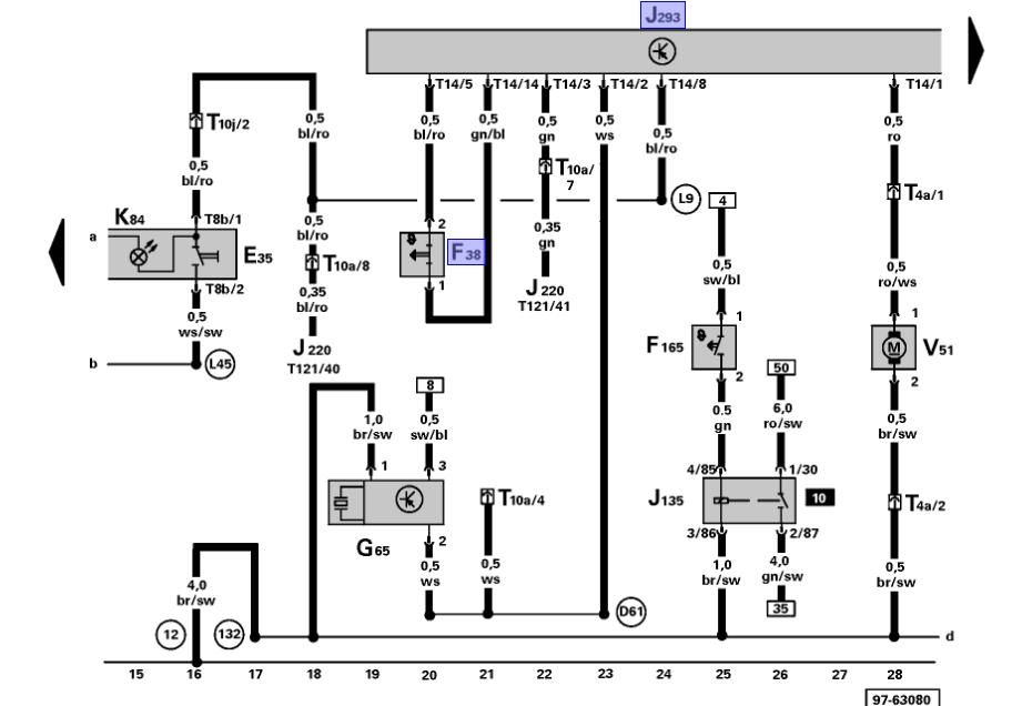 electric water pump wiring diagram