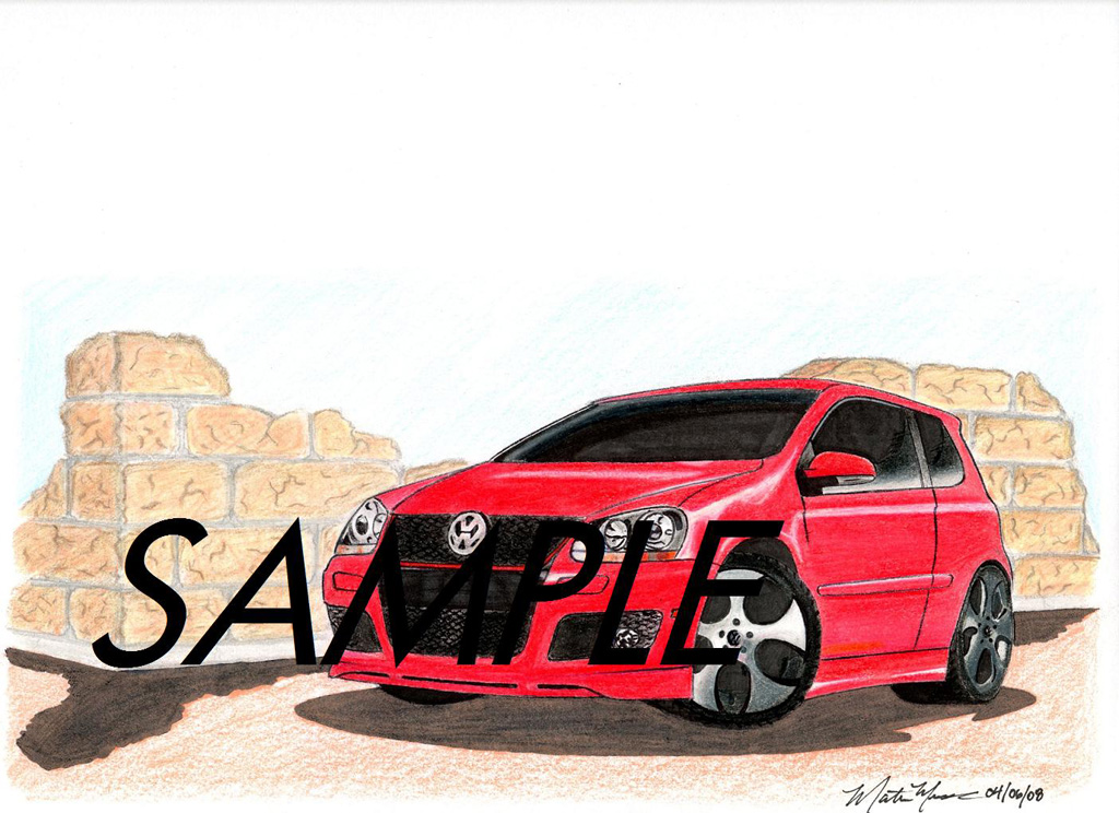 Car drawings personalized just for you!-gti005-sample1024.jpg