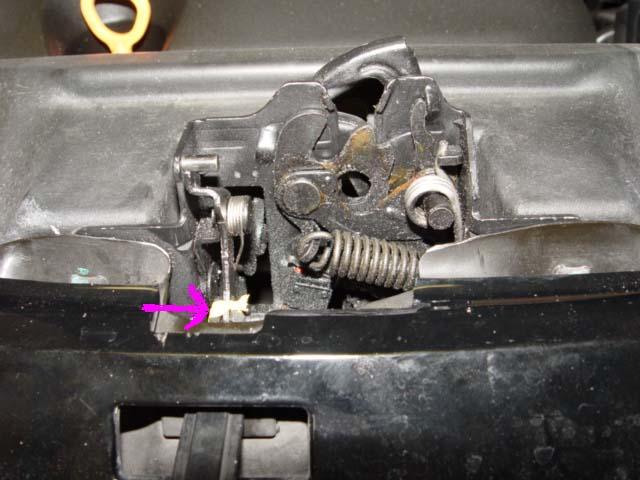D Stupid Plastic Hood Latch Hood Latch Repair