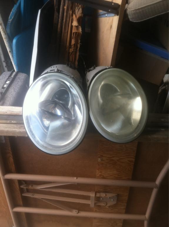 machine polish headlights