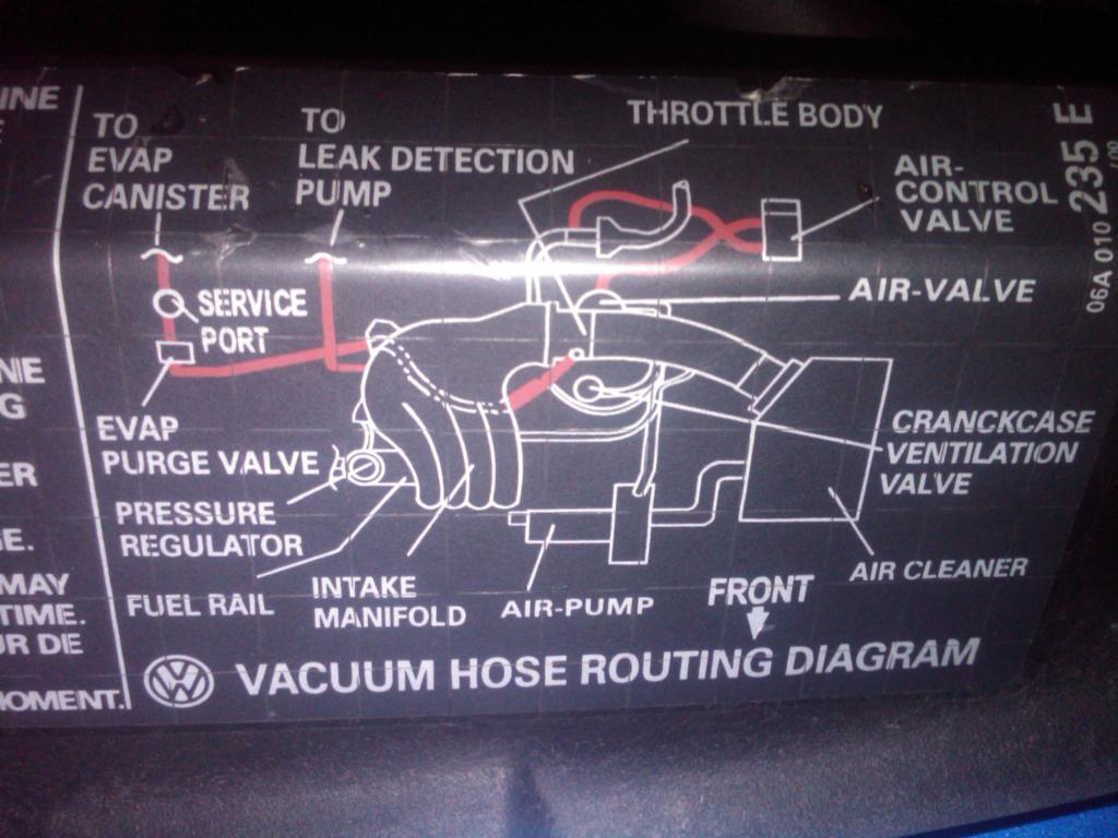 vacuum hose diagram needed newbeetle org forums rh newbeetle org 2001 Jetta  VR6 Vacuum Diagram 2006 VW Passat Engine Diagram