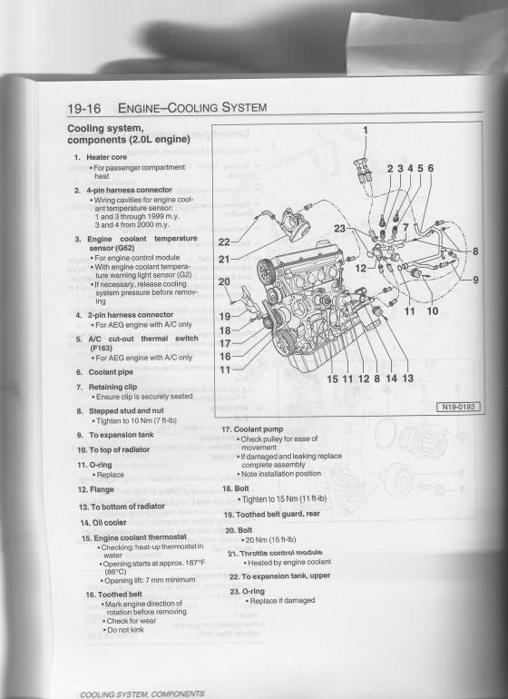 [ZTBE_9966]  Coolant temp sensor - | NewBeetle.org Forums | 2000 Vw Beetle Engine Diagram Sensor Unit |  | NewBeetle.org