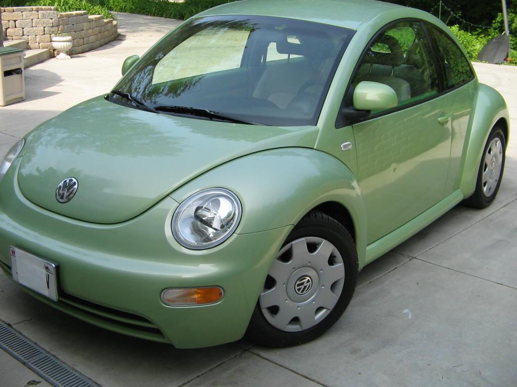 For sale 1999 vw beetle 100k miles green in milwaukee wi 7 500 newbeetle org forums