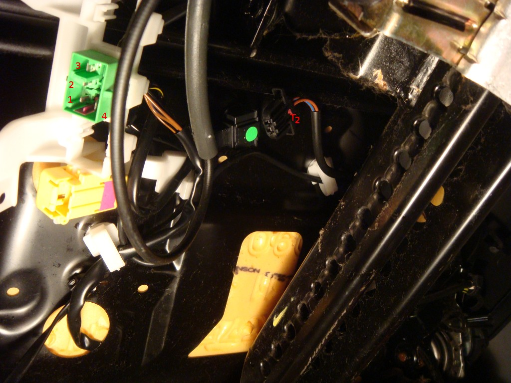Heated Seats Forums Seat Harness Connector Attached Images Files
