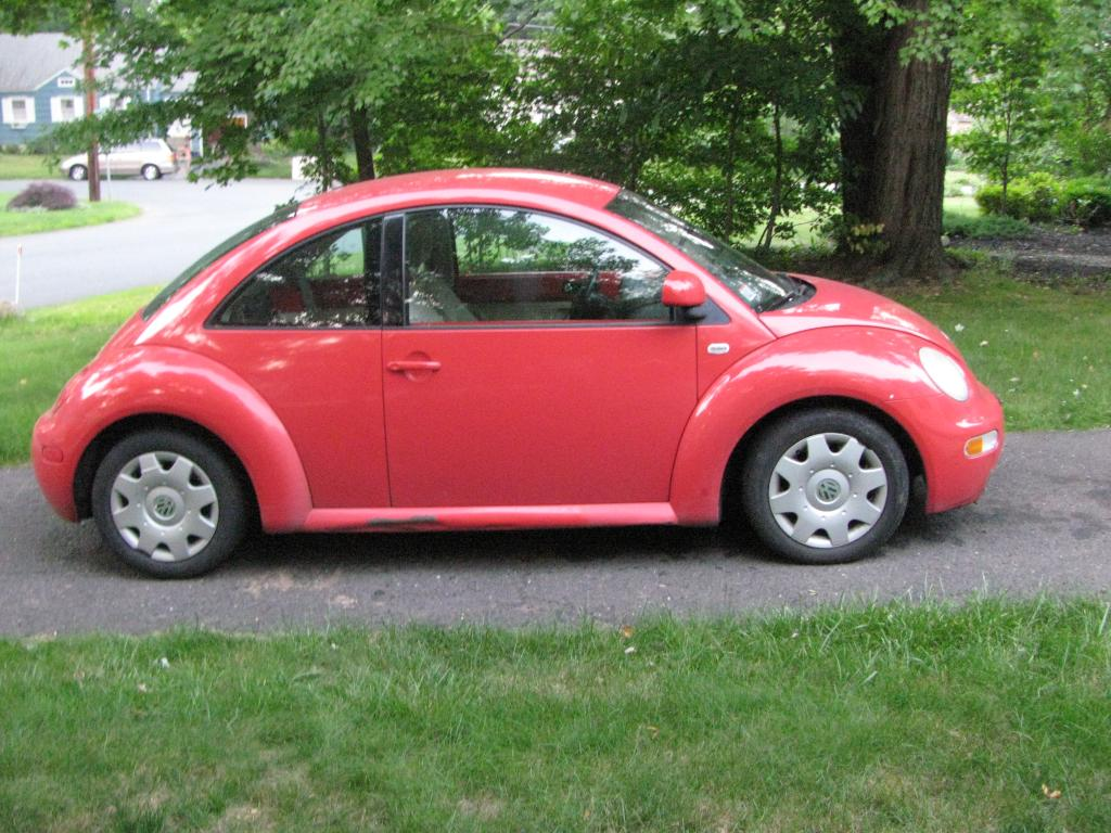NJ 99 VW New Beetle For Sale Red