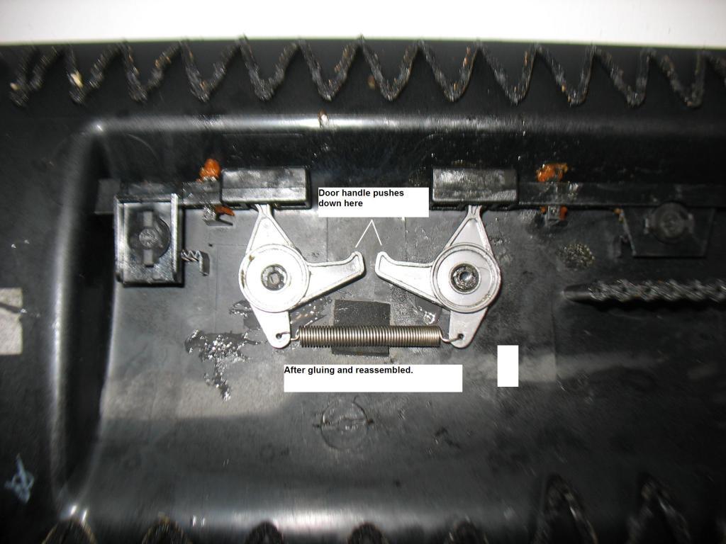 Glove Box Repair - Splitting open the door-img_3609.jpg