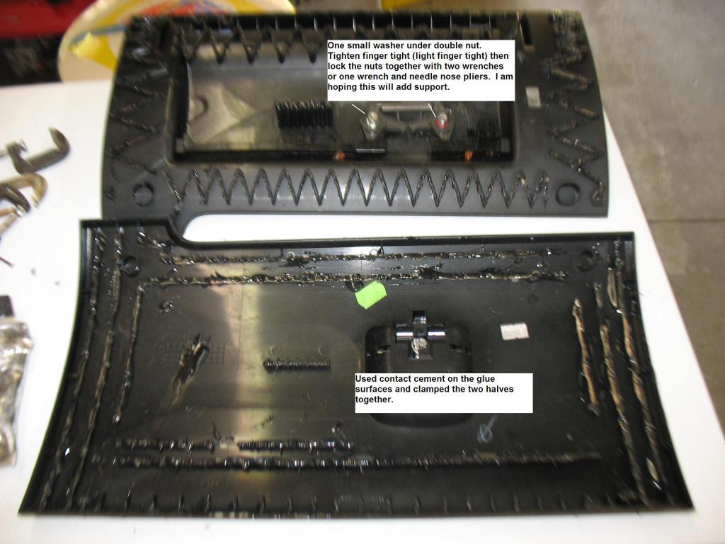 Glove Box Repair - Splitting open the door-img_3619.jpg