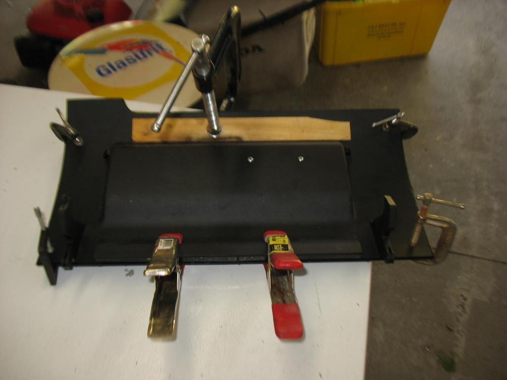 Glove Box Repair - Splitting open the door-img_3621.jpg