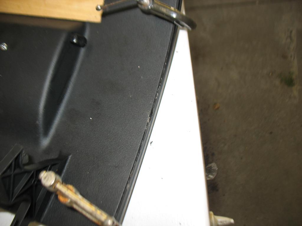 Glove Box Repair - Splitting open the door-img_3624.jpg