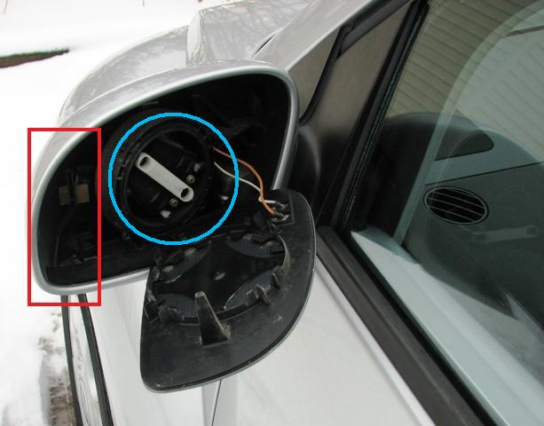 Side Mirror Glass Vw Beetle, How To Replace The Glass In A Side Mirror
