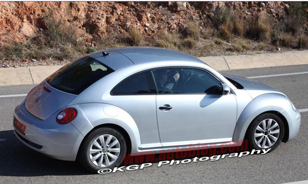 new beetle 2012 spy shots. Spy Shots: 2012 Volkswagen