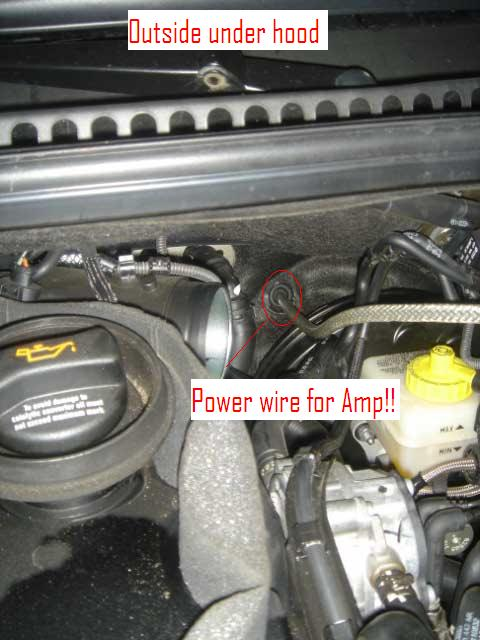 amp power wire thru firewall location newbeetle org forumsattached images files