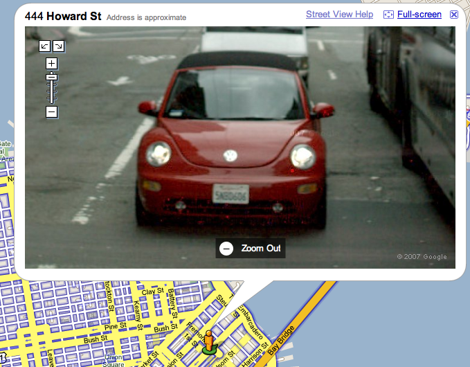 Google Maps zoom: here's the device and vehicle behind it - NewBeetle.org Forums