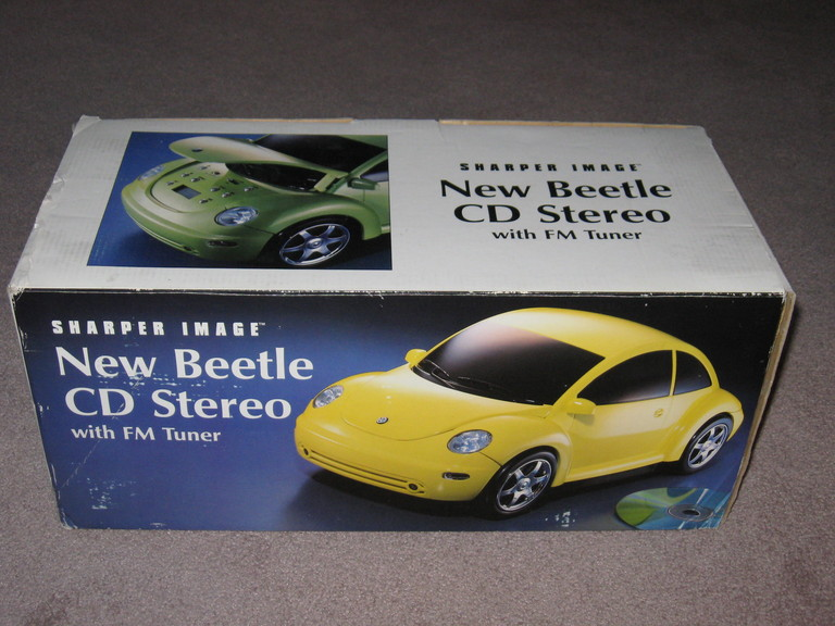 New Beetle Cd Stero Player By Sharper Image Newbeetleorg Forums