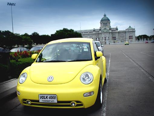 Volkswagen New Beetle Yellow. My yellow nb in thailand