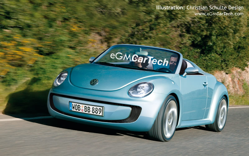 vw beetle 2010. VW Promises quot;More Courageousquot;