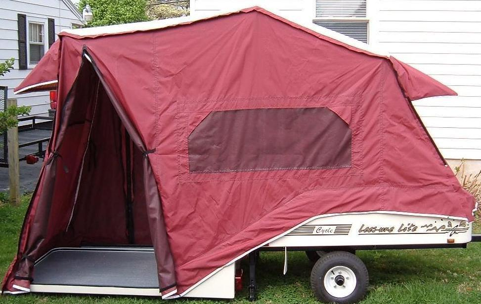 For Sale � LeeSure Lite pop up camper for small cars or MCs-small-side-door-open.jpg