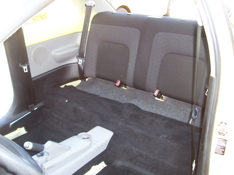 2007 volkswagen beetle seat removal