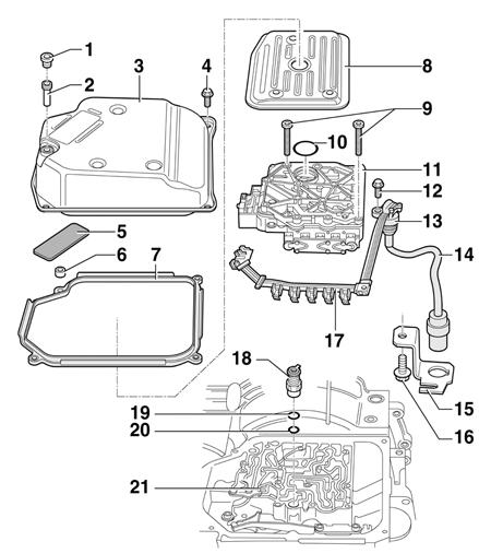 2001 jetta shift solenoid diagram