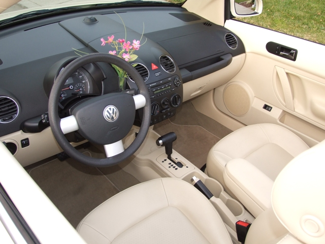 new vw beetle interior. 2007 New Beetle Convertible