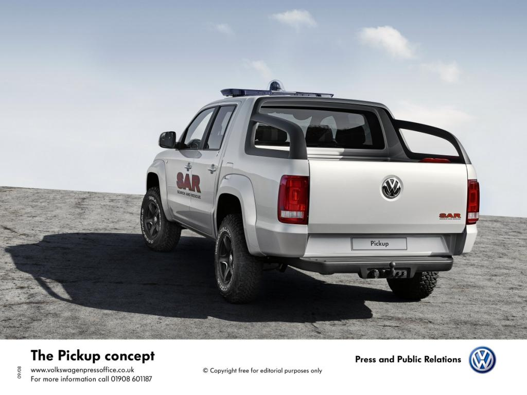 Volkswagen Концепция Pickup.