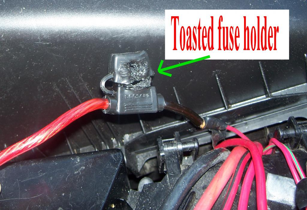 need input on fuse block on top of battery melting again... | page ...  newbeetle.org