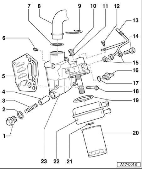 location pics of oil pressure switch sensor newbeetle org forums rh newbeetle org Volkswagen Van Drawing Volkswagen Parts
