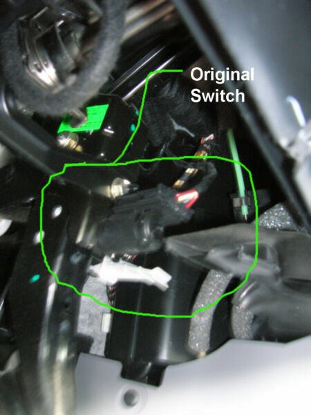 How To - EPC light/ke light switch install | NewBeetle ... Jeep Ke Light Switch Wiring Diagram on