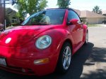 Yucca's 2004 VW New Beetle convertible