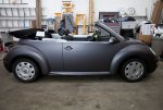 vw beetle grey wrapped 3m.JPG