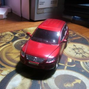 My Touareg toy. Got is long before I had a full-sized one!