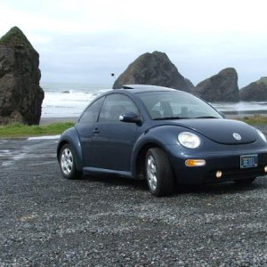 When I took our 2003 TDI to the Oregon coast, 2004